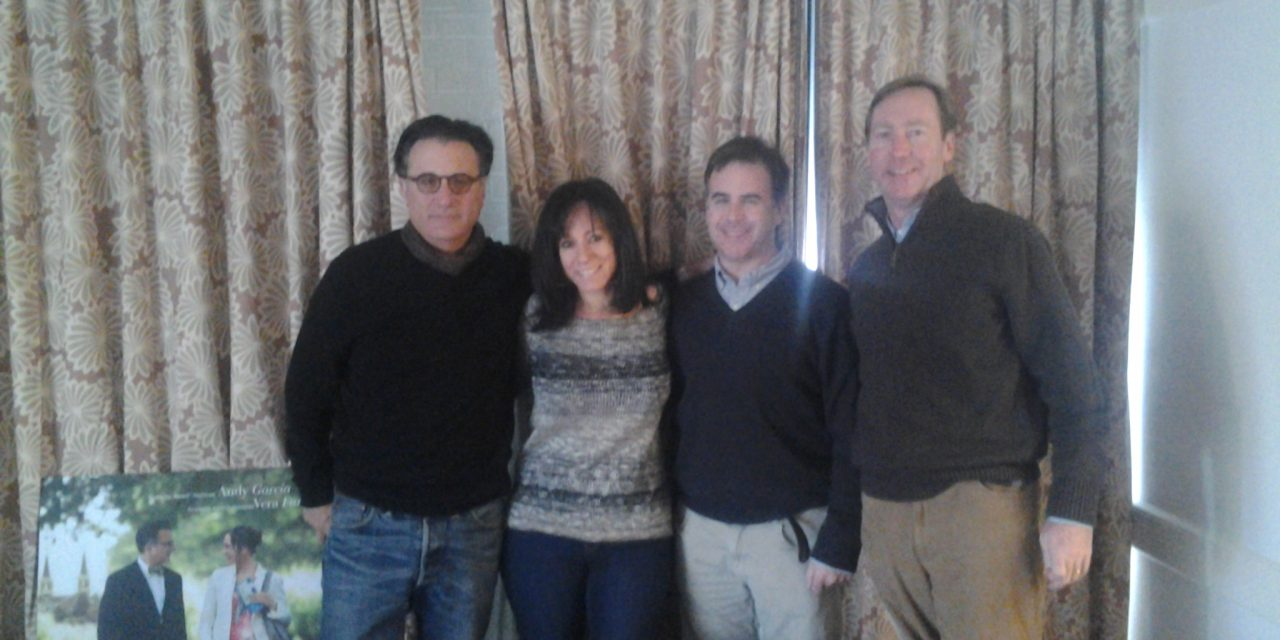 Actor Andy Garcia & Helping Others!