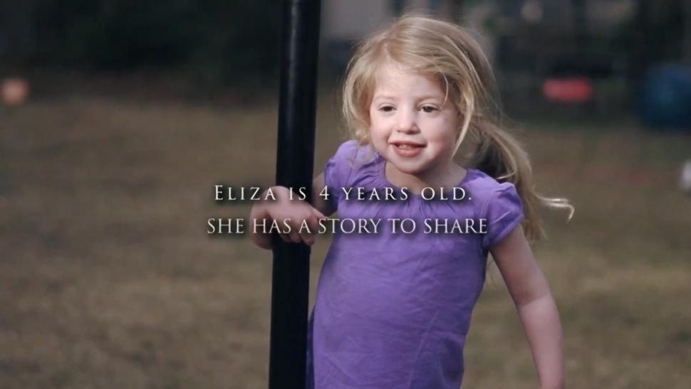 Eliza has Sanfillippo Syndrome-Type A