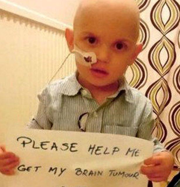 Boy Needs Rare Brain Tumor Out!