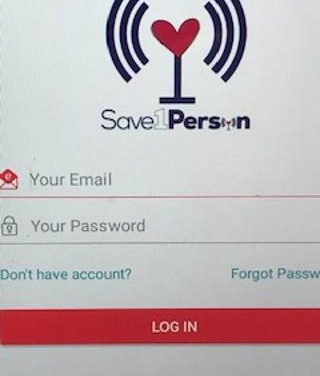 Saves Lives with Saveoneperson App!